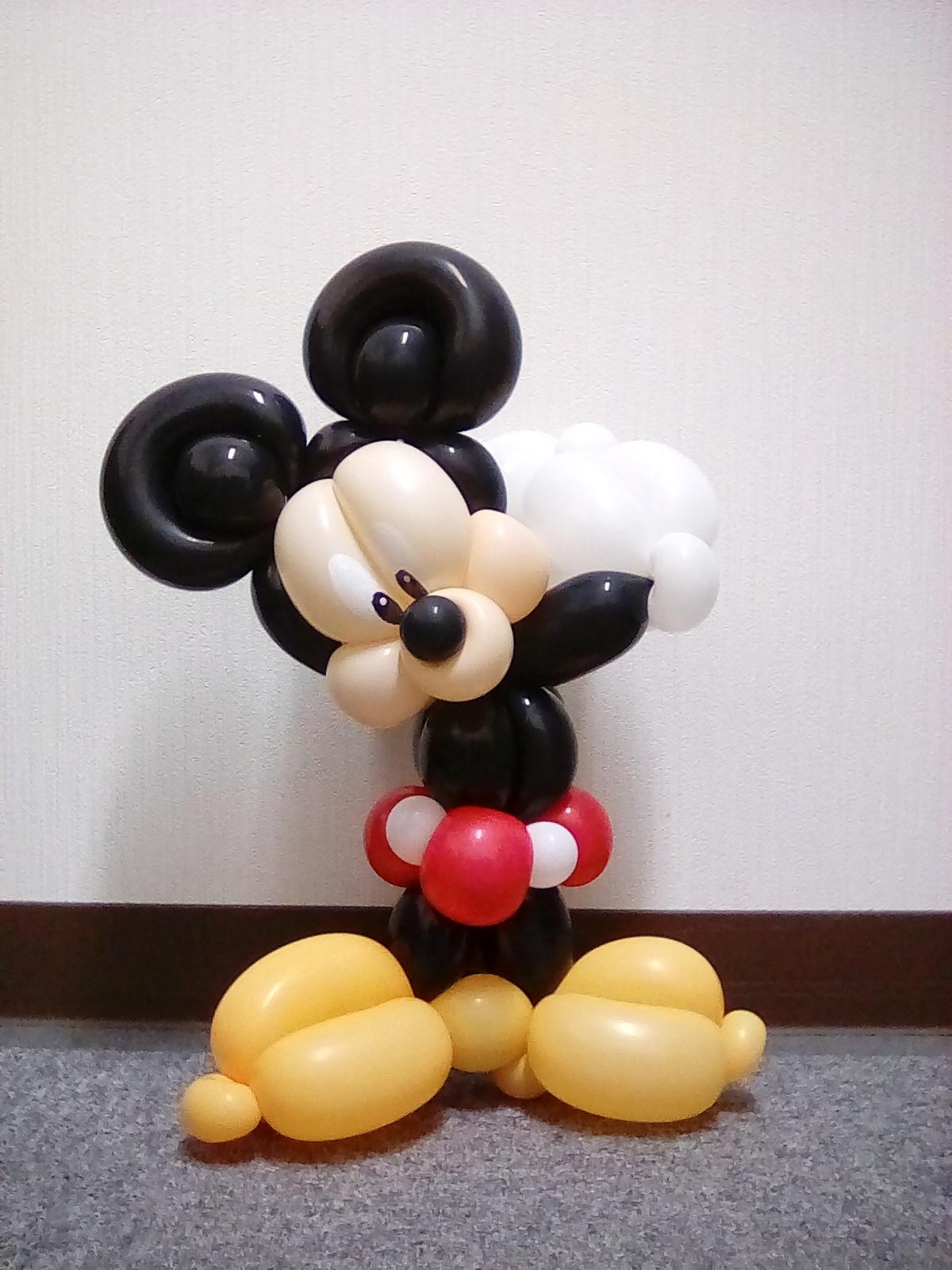 ミッキーマウス:4-1:バルーンアート.jpg
